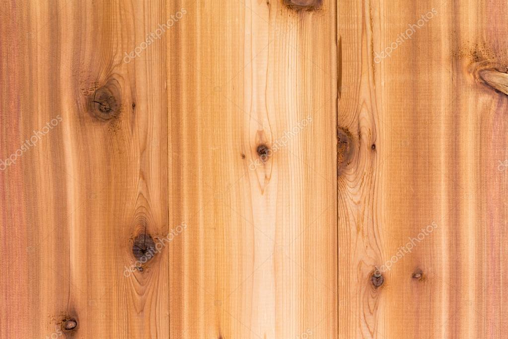 Trama di sfondo legno di cedro con tavole — Foto Stock © oocoskun ...