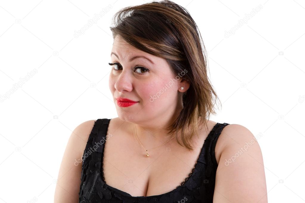 Sceptical Woman With Raised Eyebrows Stock Photo Oocoskun 72148097