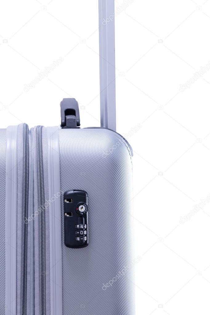 d3e0326bb59bd4 Blocco da viaggio TSA su una valigia — Foto Stock © oocoskun #73707181