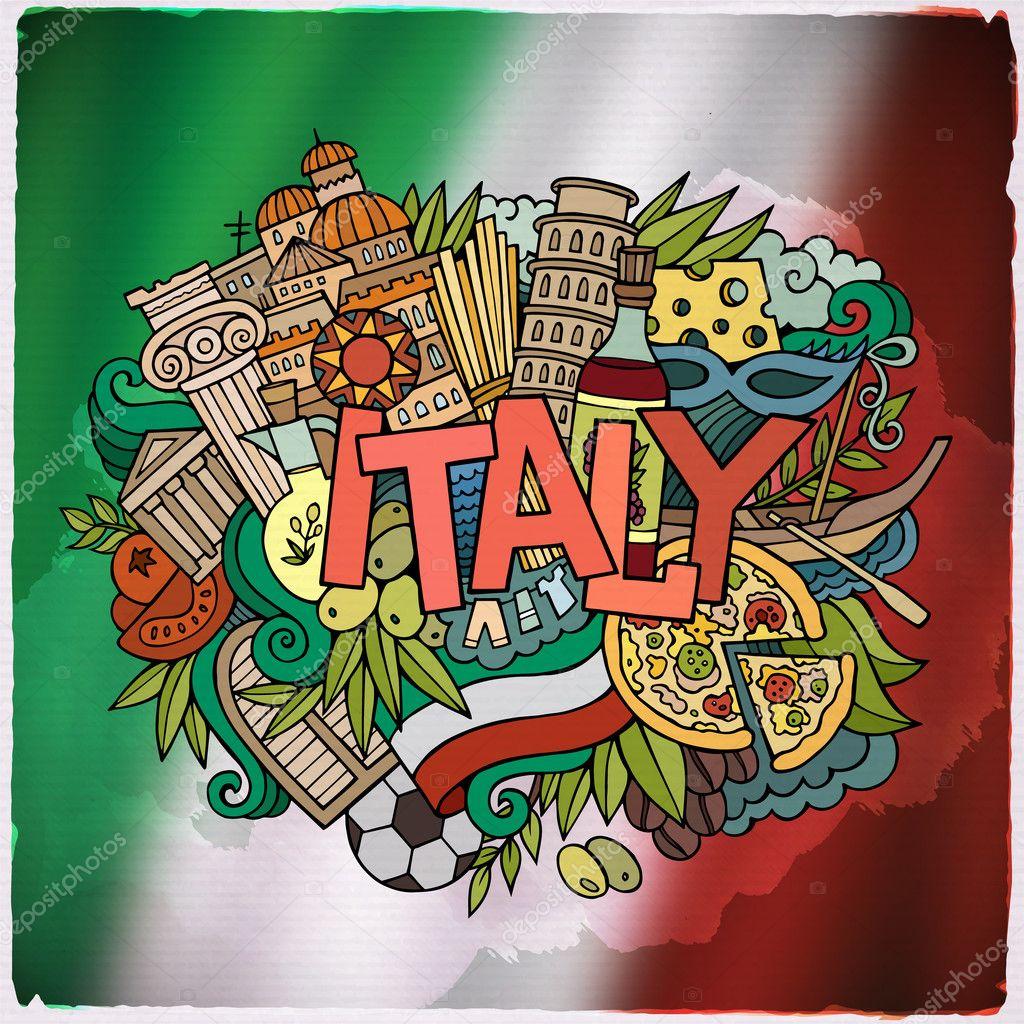 Люби меня, картинка с надписями италия