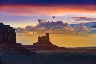 Castle Butte Monument Valley