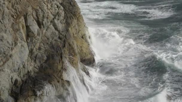 Crashing Wave California Coast