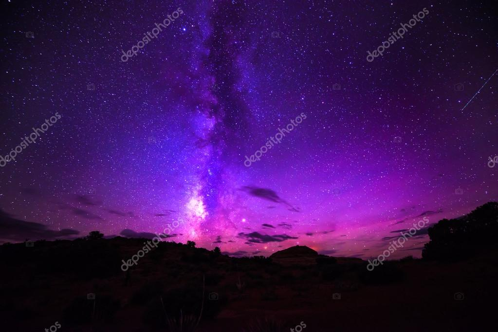 Milky Way Night Sky Stars