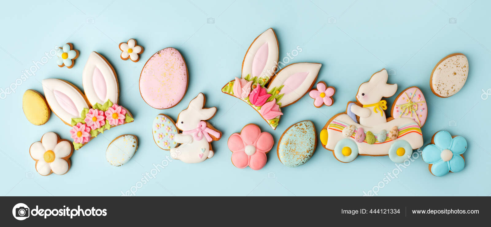 depositphotos 444121334 stock photo happy easter set cookies 2021