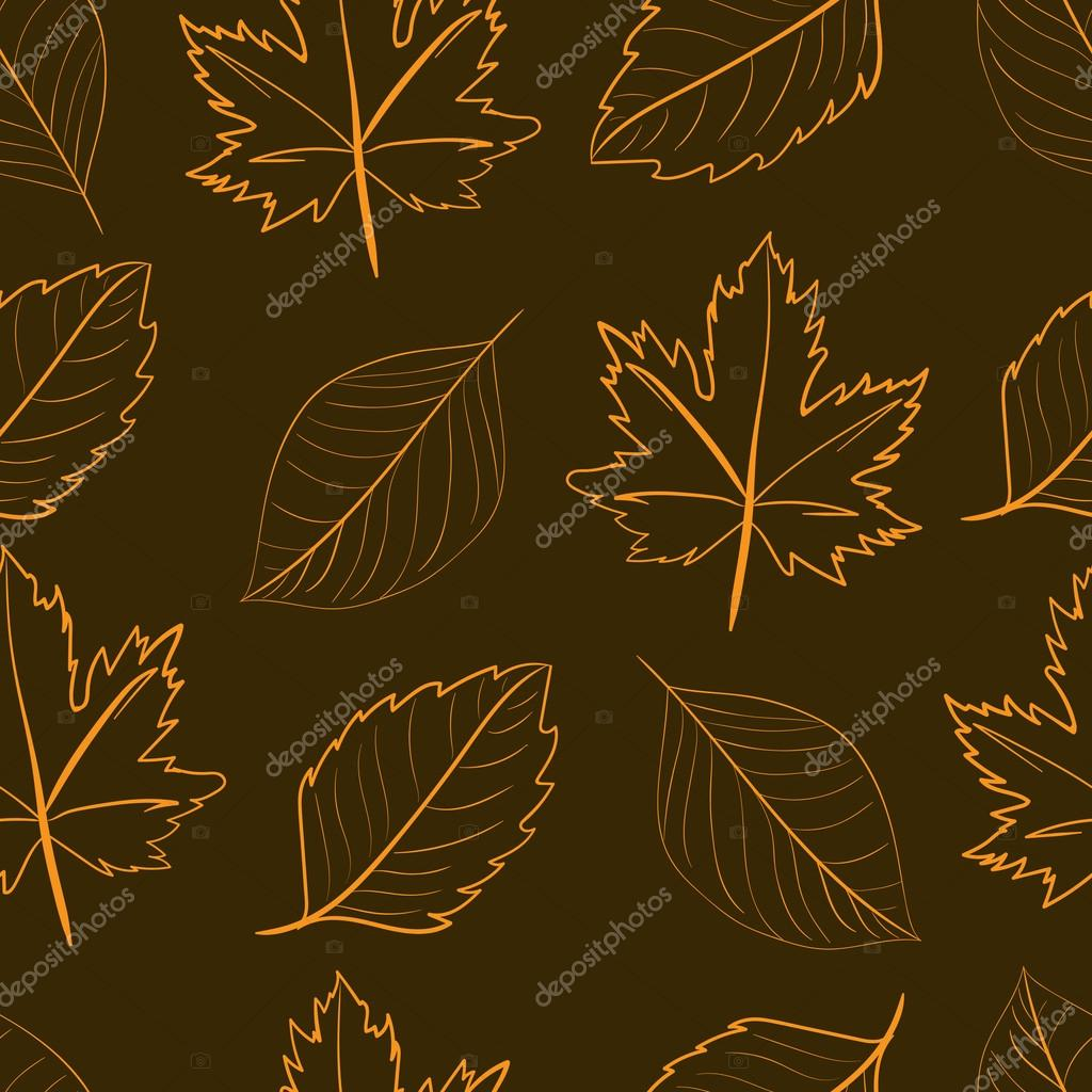 Seamless contours of leaves