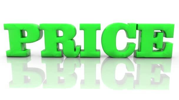 Prodej a 35 procent nápis