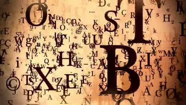 Abstraktní proměnné dopisy