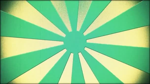 Blue sunburst in vintage style
