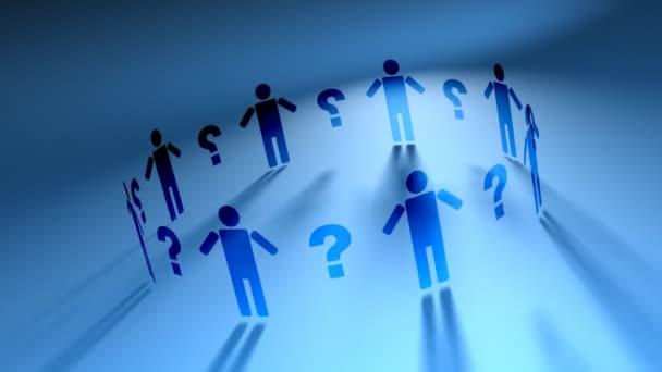 People Network  Question Marks (HD Loop)