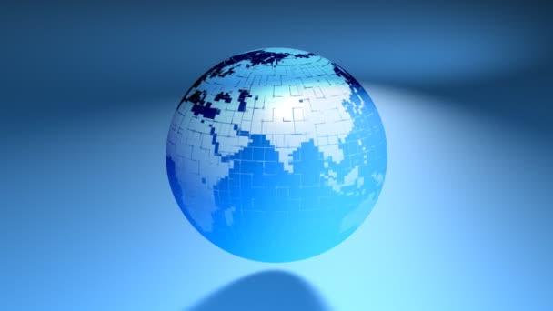 Zeměkoule v síti země