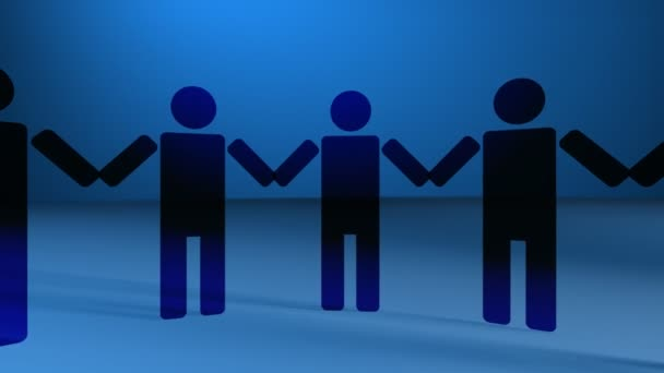 Vector People Holding Hands