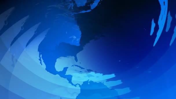 Earth 3d modrý glóbus