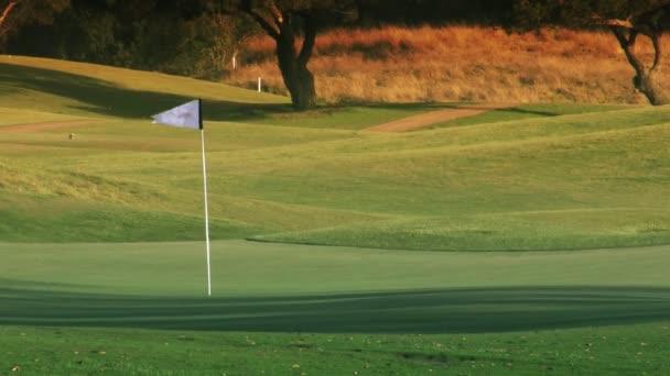 Golf Course Hole,  Green  Flag