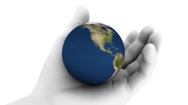 Držení země v ruce (HD Loop)