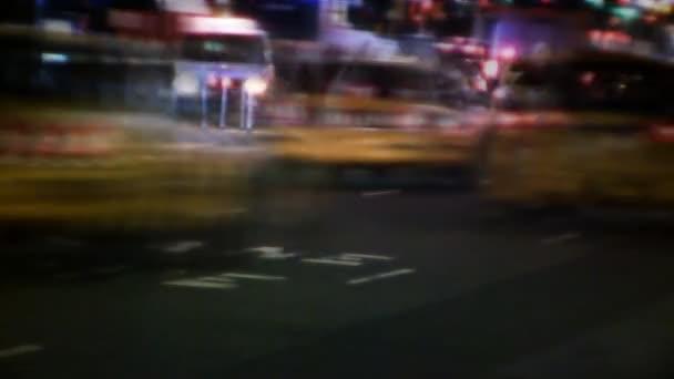 Ulice New Yorku, taxi, doprava  lidé