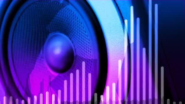 Reproduktor zvukového reproduktoru dupping (smyčka)