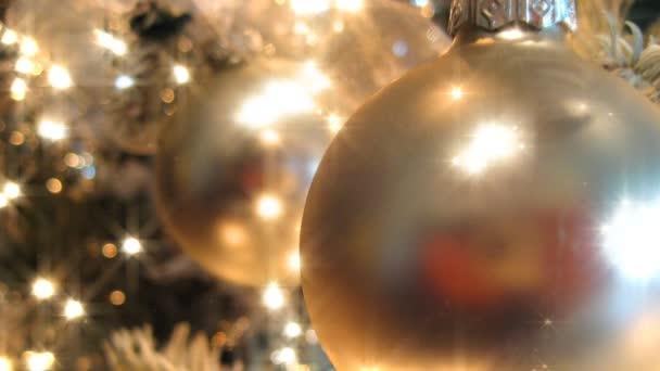 Zlatý vánoční stromek (HD Loop)
