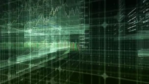 Stock Market  Financial Data Animation