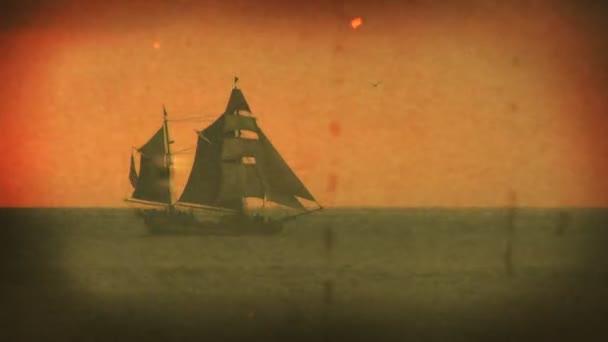 Pirátská loď - plachetnice starého světa