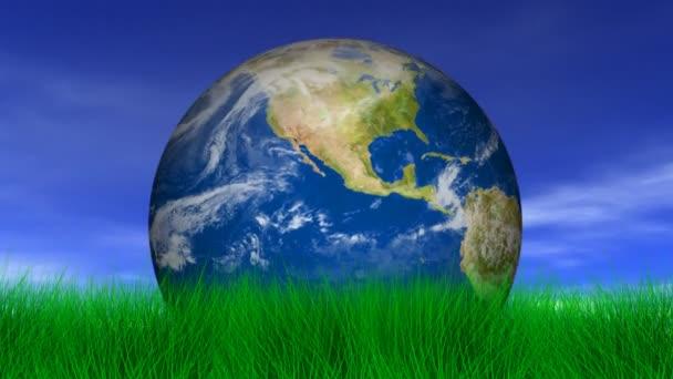 A föld, zöld fű