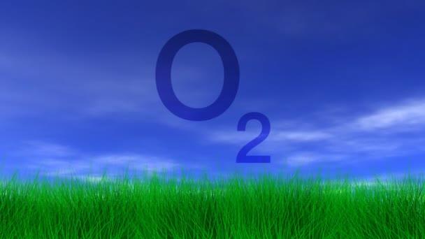 Oxygen,  Green Grass & Blue Sky