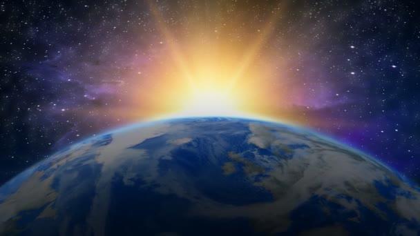 Země východu slunce v galaxii