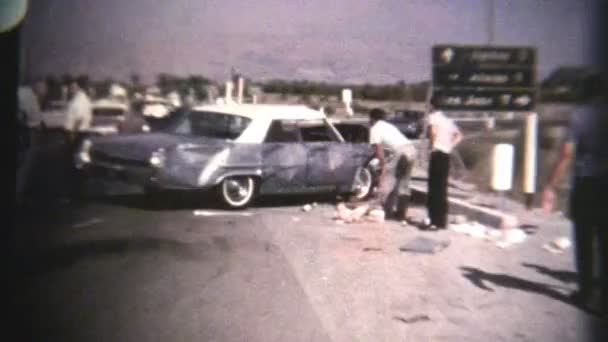 Car Accident (Archival 1960s)