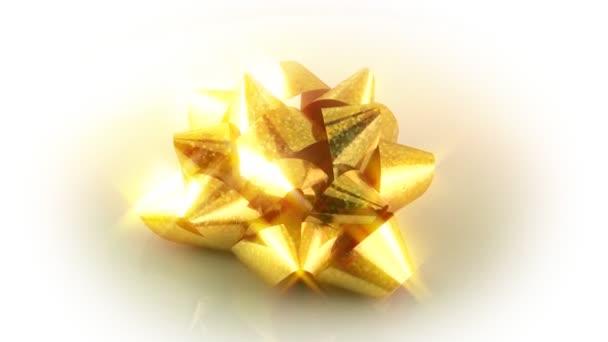 Arany pezsgő ajándék íj