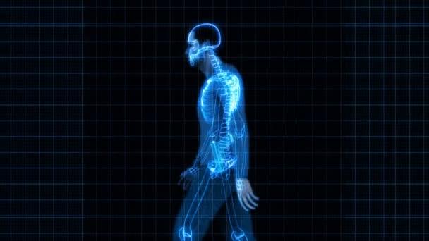 Bezpečnostní rentgenový skener - muž s pistolí