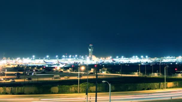 Time Lapse Los Angeles Airport (LAX)