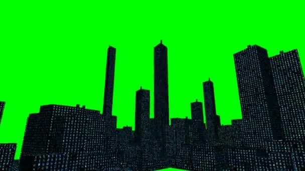 Město s digitálním kódem (Chroma, HD)