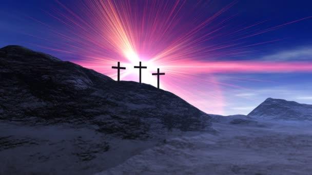 Crosses on Calvary