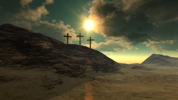 Crosses on Calvary Hill