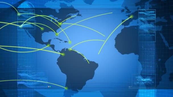 Globales Netzwerk, Reisen, Kommunikation