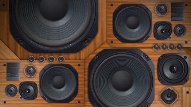 Retro Speaker - Bass Thumping