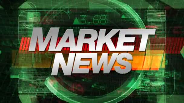 Market News - TV Show Graphic Animation