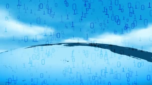 Global Data Cloud Server IT Technology