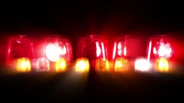 Fire Truck světla blikat - opakování