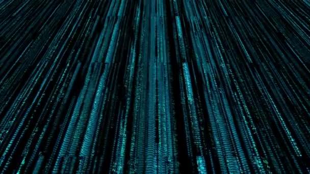 Digital Computer Code Data Matrix 4K