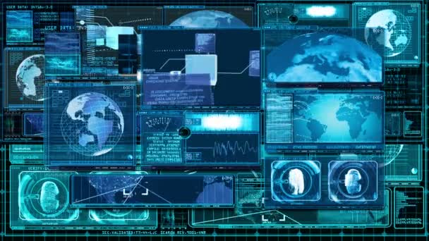 Technologie rozhraní počítače Data obrazovky Gui