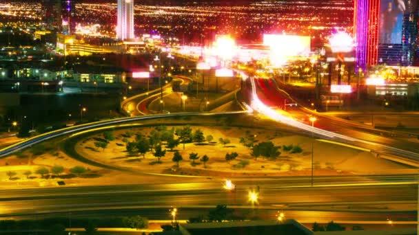 Ulice Las Vegas a Dálway dopravní provoz-doba platnosti