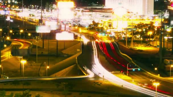 Las Vegas Streets and Freeway Traffic Time-lapse