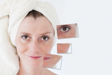 Beauty concept - skin care, anti-aging procedures, rejuvenation,