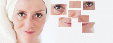Beauty concept - skin care