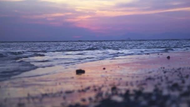 Tropical sunset, Railay beach, Krabi