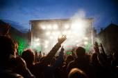 tömeg: koncert