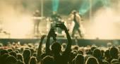 Fotografie dav na koncertě