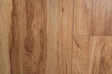 Brown, wooden flooring background, top view stock vector