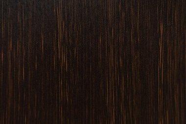 Background of dark brown, wooden flooring, top view stock vector