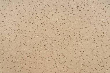 Beige, embossed textured background, top view stock vector